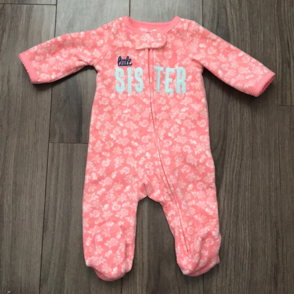 d71efd941 Carter's One Pieces | Used Little Sister Onesie | Poshmark